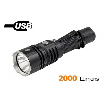 Acebeam L16 flashlight, Cree XHP35 Hi led 2000LM, Micro-USB rechargeable