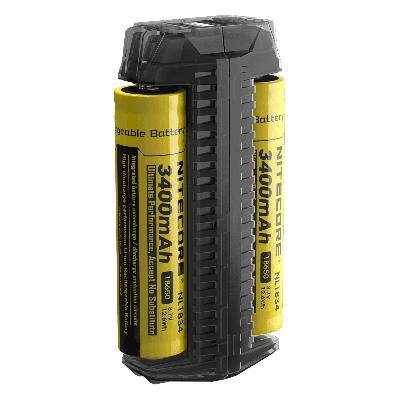 Nitecore F2 flexible power bank dual-slot Battery Charger