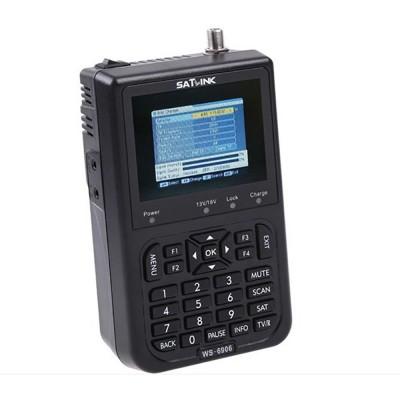 "Satlink WS-6906 3.5"" DVB-S FTA Digital Signal Finder Satellite Meter"