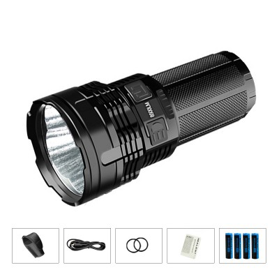 Imalent DT35 LED Flashlight, 8500 Lumens,  CREE XHP35 HI LEDs, Waterproof, 18650 Battery Included