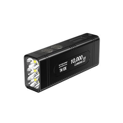 Nitecore TM10K Tiny Monster LED Flashlight, 10000LM, 4800mAh Battery