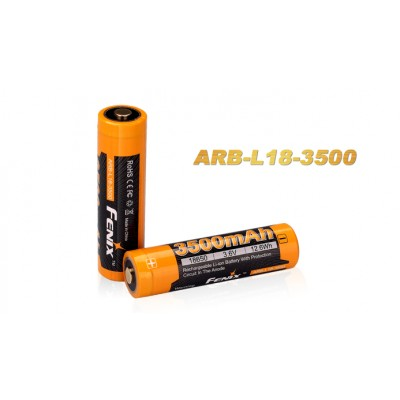 Fenix ARB-L18-3500 Protected 18650 Rechargeable Battery