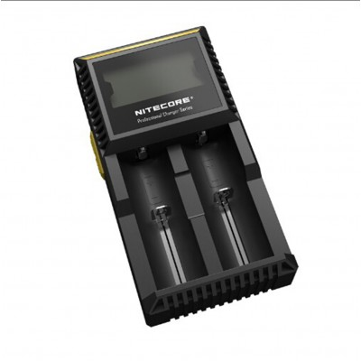 Nitecore D2 Battery Charger Digicharger For 18650 14500 18350 16340 10400 AA AAA