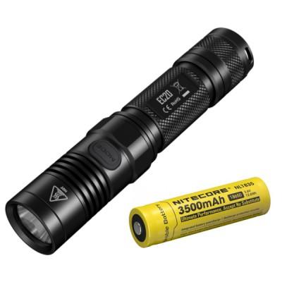 Nitecore EC20 Tactical LED Flashlight, 960 Lumens, CREE XM-L2 T6 LED