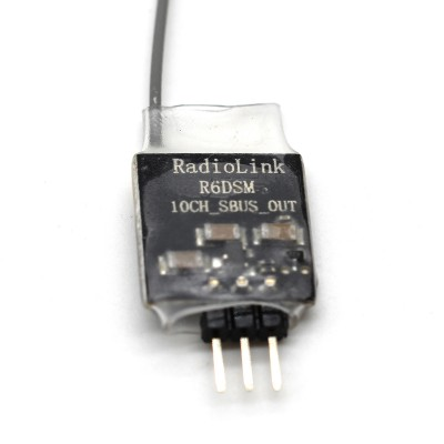 Radiolink R6DSM 10-CH S.BUS Super Mini Receiver