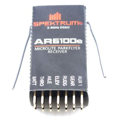 AR6100E DSM2 2.4GHz 6 Channel Receiver for Spektrum Support DSX7/DSX9/DSX11/DSX12 DX6i/DX7/DX8