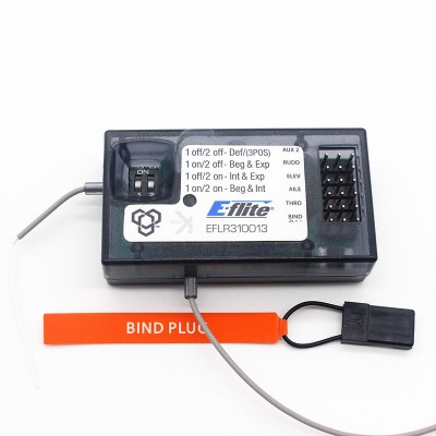 EFLR310013 5 Channel Safe Airplane Receiver For EFLITE APPRENTICE