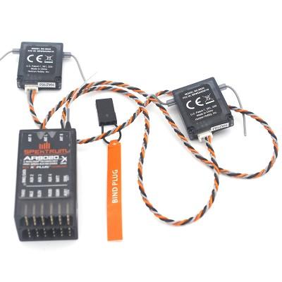 AR9020 9 Channel 2.4GHz Receiver for Spektrum with 2 Satellites 2.4GHz High Speed 9CH Receiver