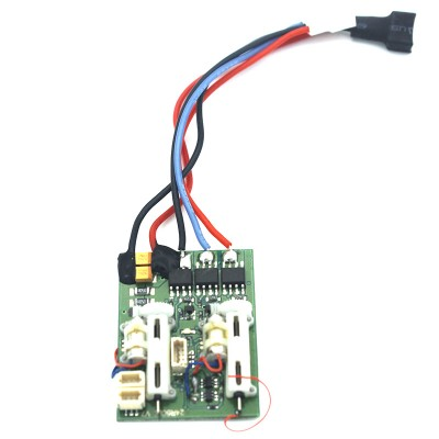 AR6410LBL 6 Channel DSMX Ultra Micro Receiver with integrated servos For Spektrum, JR, E-flite and ParkZone