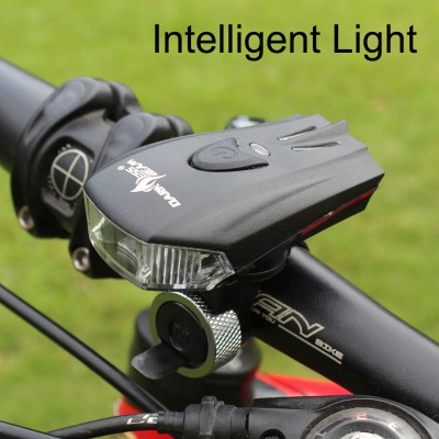 Intelligent Bicycle Headlight USB Rechargeable LED 400LM Bike Front Light