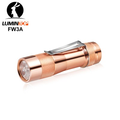 Lumintop FW3A Copper 2800 lumens 18650 Flashlight