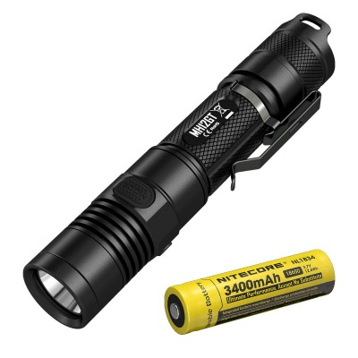 Nitecore MH12GT USB Rechargeable Flashlight, 1000 Lumens, Waterproof