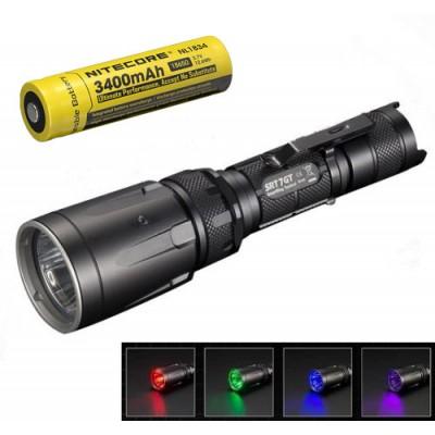 Nitecore SRT7GT LED Flashlight, Multi-Colored 1000Lumens