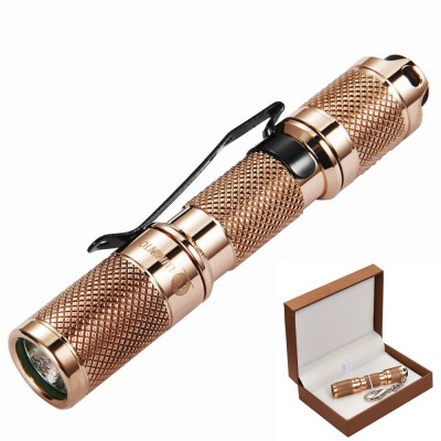 Lumintop Copper Tool AAA Keychain 110Lumens XP-G2 (R5) LED Flashlight