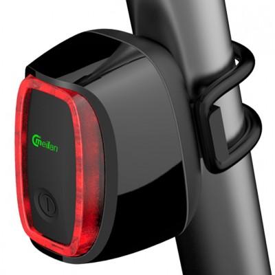 Meilan X6 Auto ON/OFF Streamlined Rechargeable Smart Rear Light
