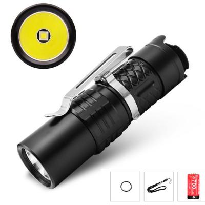 Klarus XT1C LED Flashlight,700Lumen,CREE XP-L HI V3 LED,Tactical /Outdoor Setting,16340 battery, Compact design