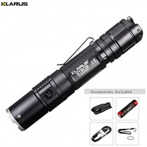 Klarus XT2CR Rechargeable Flashlight -CREE XHP35 HD E4 LED -1600 Lumens - 3600mAh Battery
