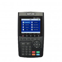 Satlink WS-6916 Satellite Finder DVB-S2 MPEG-2/MPEG-4 High Definition Satellite meter TFT LCD Screen