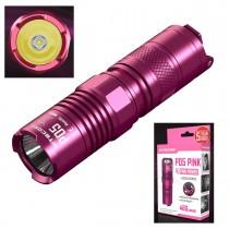 Nitecore P05 Pink 460 Lumen CREE XM-L2 U2 3 Modes Self-Defense Waterproof EDC LED Flashlight