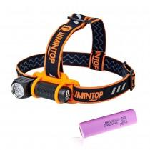 Lumintop HL3A Headlamp ,2800 Lumens , 3 LEDs , 18650 Flashlight , Anduril firmware