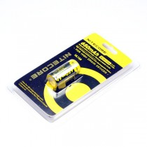 Nitecore NL166 650mAh RCR123A 3.7V 2.4Wh Li-ion Rechargeable Battery For High Drain Devices(1-pc)