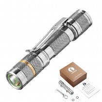 Lumintop TOOL Ti Titanium AAA Keychain Flashlight , XP-G2 (R5) or Nichia 219 LED, 110LM or 80LM