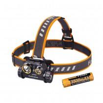 Fenix HM65R Headlamp Max 1400 Lumen Dual Beam USB Rechargeable Spotlight Floodlight