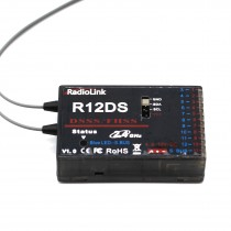Radiolink R12DS 2.4GHz 12 channels DSSS & FHSS Receiver