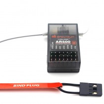 AR500 2.4GHz 5 Channel DSM2 Full Range Receiver for Helicopters for Spektrum