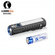 LUMINTOP EDC05C Cree and Nichia Side Light 500 Lumen Rechargeable  LED Flashlight