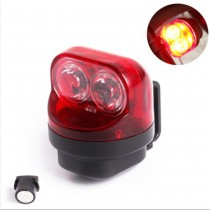 Magnetic Induction Self-Powered Bicycle Rear Light