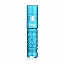 Klarus Mi7 EDC Flashlight, 700 Lumens,CREE XP-L HI V3 LED,AA/14500 batteries,Blue