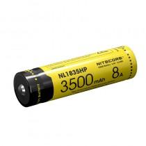 Nitecore NL1835HP 18650 3500mAh 3.6V 12.6Wh 8A Protected Li-ion