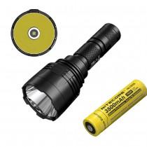 Nitecore P30 Flashlight,1000 lumen, CREE XP-L HI V3 LED, Tactical, Waterproof, Uses 18650 Battery