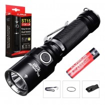 Klarus ST15 LED Flashlight,1100 Lumens+ battery
