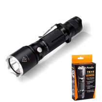 Fenix TK15UE LED Flashlight, 1000 lumens, CREE XP-L HI V3 LED, 325 Meters Beam Distance,Tactical Tail Switch, Black