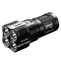 Nitecore TM28 LED Flashlight , 6000Lumen , 4 X CREE XHP35 HI, Rechargeable