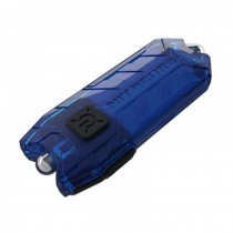 Nitecore Tube 45 Lumens USB Rechargeable Keychain Flashlight -Blue