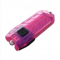 Nitecore Tube 45 Lumens USB Rechargeable Keychain Flashlight -Pink
