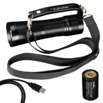 Fenix WT50R Multipurpose Handheld LED Searchlight max 3700 lumens Flashlight With Battery Pack
