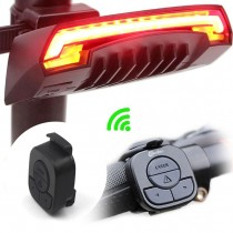 Meilan X5 Bicycle Rear Tail Light Wireless Remote Control Turn Signals laser