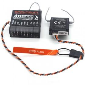 AR8000  8 Channels 2.4GHz High-Speed Receiver with Remote Satellite For Spektrum