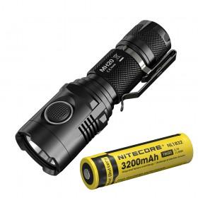 Nitecore MH20 LED Flashlight, 1000Lumens, CREE XM-L2 U2, USB Rechargeable, With 3400mAh battery