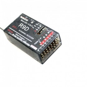 R9D 2.4G 9 Channel DSSS Receiver For RadioLink AT9 AT10 Transmitter RC