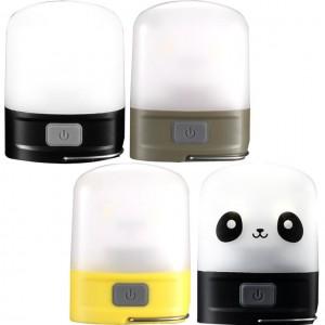 Nitecore LR10 Outdoor Camp Lantern, 250 Lumen, 9 high CRI LEDs, USB Rechargeable, Built-in Li-ion Battery