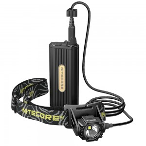 Nitecore HC70 Rechargeable Cave Exploring Headlamp, 1000 Lumens, CREE XM-L2 U2 LED, Uses 18650 Batteries, Waterproof