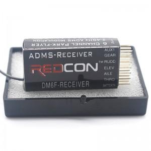 DM6F 2.4Ghz 6 Channel Receiver Park Flyer 2.4Ghz ADMS Modulation For RC JR XG7/XG8/XG11 ADMS