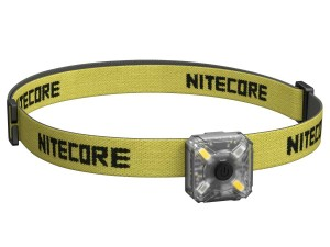 Nitecore NU05 USB Rechargeable LED Headlamp, 35 Lumens, Lightweight and tiny warning light