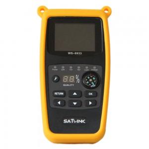 Satlink WS-6933 Satellite Finder, Ultra-Fast Compact HD DVB-S DVB-S2 Signal Finder