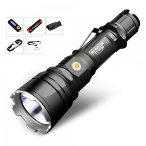 Klarus XT12GT Klarus Flashlight,CREE LED XHP35 HI D4,1600 Lumen,603m Beam Distance